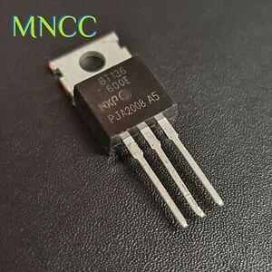 1/2/5p BT136 600V 4A Triac Thyristor Touch Dimmer Light / Sens Gate NXP TO-220