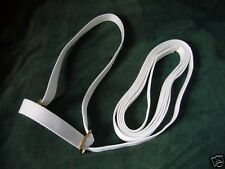 "3/4"" (20mm)Web Adjustable Bright White Show Halter Welsh Pony Foal Mare Gelding"