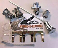 NEW 1966-1968 Belvedere & Road Runner Complete lock set- 1 key system- OE keys