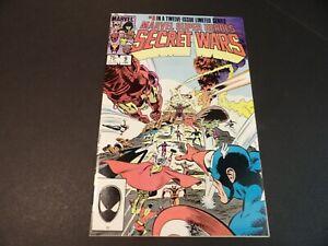 Secret Wars #9 - Marvel Jan 1985 - High Grade (VF+) - unread