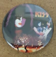 Kiss Paul Stanley  Alive Era 1.5 Inch badge Gene Simmons Ace Frehley Peter Criss