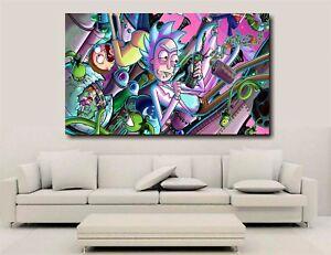 Rick & Morty - Canvas Wall Art