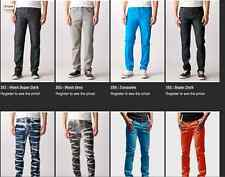 Neo Blue Skinny Jeans 2% Spandex 98% Cotton 15 Colors ALL SIZES 26-40 NWT