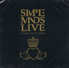 Simple MINDS-Live-in the City of Light - 2cds NUOVO ghostdancing-Waterfront