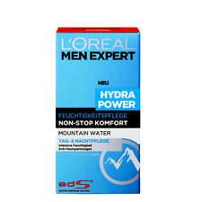 (17,30€/100ml) 50ml Loreal Men Expert Hydra Power Feuchtigkeitspflege Mountain