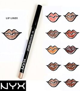 NEW  ~ NYX ~ Slim Lip Liner Pencil PICK YOUR COLOR - Buy 4 Get 1 FREE  Full Size