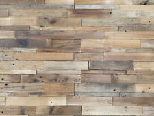 3D Echt-Holzriemchen GY-LM608 Wall Panel Wood Panelling 30 X 60 CM