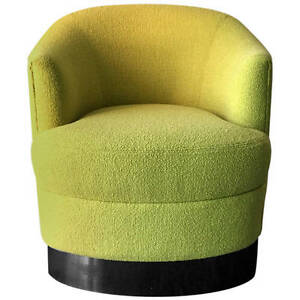Club Lounge Chair on Castors by Karl Springer