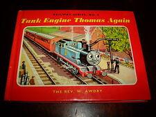 REV W AWDRY-TANK ENGINE THOMAS AGAIN-SIGNED BY REV W AWDRY-1981-HB-VG-No 4-RARE