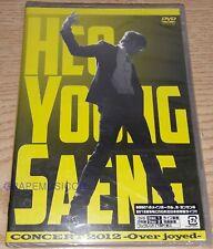 HEO YOUNG SAENG SS501 CONCERT 2012 OVER JOYCED JAPAN 2 DISCS DVD NEW