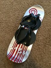 """BABW Silver and Red Snowboard Build A Bear 15"""""""