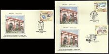 3 special covers    Letter Box Postman Mail Van motor vehicle India postal post