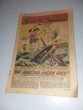 WONDER WOMAN #133 DC COMICS 1962 THE AMAZING AMAZON FAMILY RACE early SILVER AGE