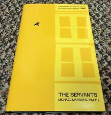 THE SERVANTS Michael Marshall Smith 1st ed 175 COPY SIGNED/LIMITED HC fine OOP