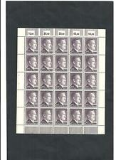 German Reich, 1942 michelnr: 800 B **, COMPLETE SHEETS **, catalogue value £ 150