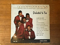 Manhattans LP - Dedicated To You - Carnival CMLP-201