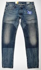 G-Star Raw Jeans, 3301 low tapered, w33 l32 used vintage look Jeans Hose azul