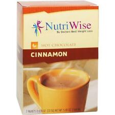 NUTRIWISE | Cinnamon  Diet Hot Chocolate | High Protein, Low Carb, Low Sugar