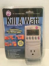 P3 International P4400 Kill A Watt Electricity Usage Monitor - Brand New Sealed