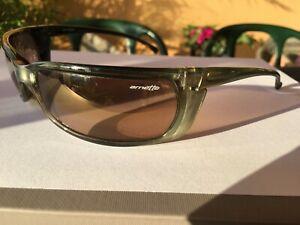 ARNETTE SLIDE WRAP SPORTIVE  Sunglasses AN4007ML 175/6E GREEN FRAME ONLY