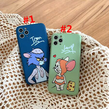 Funny Tom And Jerry TPU Phone Case Cover For iPhone 11 Max X XR Xs 7 8 SE 2020