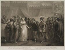 A. CARDON (1772-1813), n.T.STOTHARD (1755), Catherine & Heinrich V., 1797