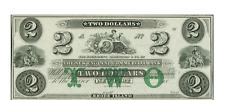Newport, RI- New England Commercial Bank $2 18__ Remainder Twin vignettes