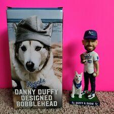 Danny Duffy & Sadie Dog Kansas City Royals MLB Bobblehead 2019 Stadium Giveaway