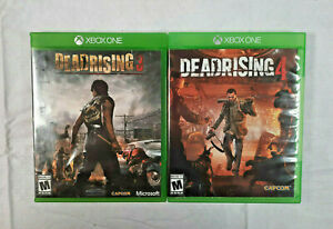 Dead Rising 3 & 4 Capcom Video Games for Microsoft Xbox One Gaming Console