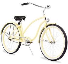 "26"" Oversize Beach Cruiser Bike W/Forward Crank Firmstrong Chief Ladyvanilla"