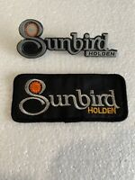HOLDEN  TORANA SUNBIRD Genuine Badge & Original Patch, VGC, P/N: 9944717