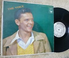 FRANK SINATRA lp THE VOICE COLUMBIA CL 743 MONO WLP PROMO ORIGINAL DG