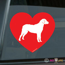 Love Chesapeake Bay Retriever Sticker Die Cut Vinyl - chessie cbr