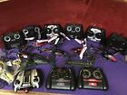 Remote controller helicopter LOT (for parts) plus controllers and accesories!