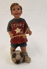 Sarah's Attic Figurine Soccer Stars Collectible