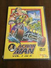 ACTION MAN VOL 1 DE 5 - DVD PAL 2 - 5 CAPS - 125 MIN - SLIMCASE NEW SEALED NUEVA