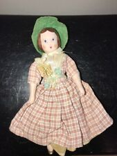 7.5� Ruth Gibbs Doll Gold Shoes Pink China All Original Meg From Little Women