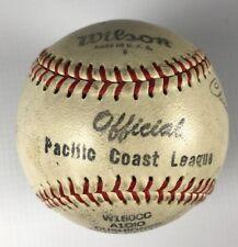 Vintage 1944-54 Clarence Rowland Pacific Coast League Wilson Baseball