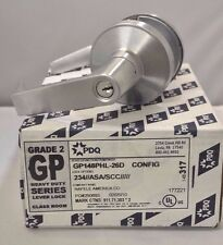 "PDQ COMMERCIAL LOCKSET GP PHL 148 CLASSROOM 2 3/4"" BACKSET"