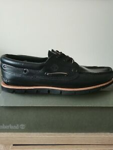 Timberland Mens Tidelands Leather Boat Shoe in size 7.5 - £42