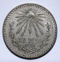 1933 Mexico One 1 Peso - Lot 744