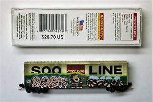 """MTL Micro-Trains 38440 SOO LINE 177746 """"Christmas"""" (FW) Factory Weathered"""