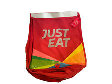 Brand New WITH TAGS 100% Genuine JUST EAT food Thermal delivery bag Full Size !
