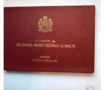 1972 Proof Set Malta(Case)