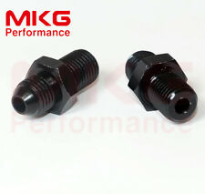 Male AN8 8AN to M16 x 1.5 Car Performance fuel fittings Adaptor Metric 2PCS