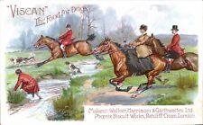 Advertising. Viscan Dog Food by Walker, Harrison & Garthwaites. Fox Hunt.