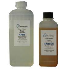60min Epoxidharzkleber 375g E60K EP-Harz Epoxy Klebeharzsystem Klebeharz EP