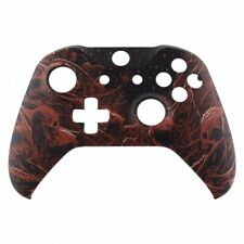 """NEW Custom Xbox One S Controller Front Shell """"Tree Bone Demon"""" (Soft Touch)"""