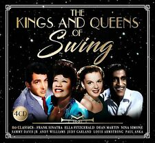 THE KINGS AND QUEENS OF SWING 4 CD SET VARIOUS ARTISTS New Release 4th May 2018