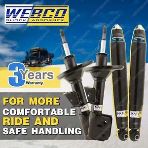 Front Rear Webco Elite Shock Absorbers for SUZUKI SWIFT RS415 1.5 VVT 5 door